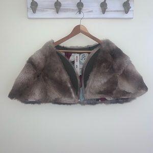 KENZO Rabbit Fur Stole